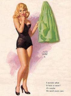 Earl Moran - I Wonder What Is Best to Wear, 1956-01.jpg