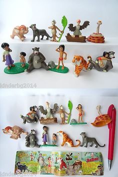 Jungle Book 158765: Complete Collectible 10 Figures Toys Set Jungle Book 2 Zweifel 2003 +One Paper -> BUY IT NOW ONLY: $36.89 on eBay!