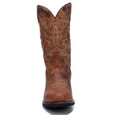 c6ac612bcb Laredo Men s Bryce Medium Wide Cowboy Boots (Tan Leather) - 13.0 2E Botas