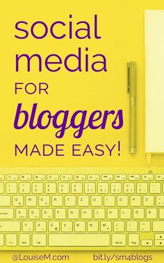 What if there was social media for bloggers that made your promotion easy? Social media that practically posts itself? // Louise M