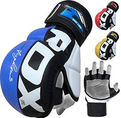 RDX Cow Hide Leather Grappling MMA Gloves Cage UFC Fighting Sparring Glove Training :: [LINK] http://epicmmastore.com/rdx-cow-hide-leather-grappling-mma-gel-gloves-cage-ufc-fighting/
