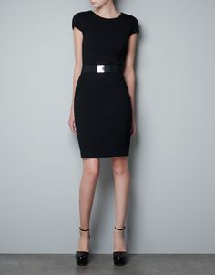 BELTED SHEATH DRESS - Dresses - Woman - ZARA United States