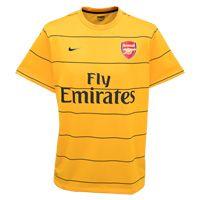 Nike Arsenal Pre Match Training Top - Pro Gold/Dark Arsenal Pre Match Training Top - Pro Gold/Dark Obsidian - Kids. http://www.comparestoreprices.co.uk/football-kit/nike-arsenal-pre-match-training-top--pro-gold-dark.asp