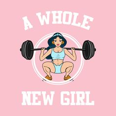 'A whole new girl' Metal Print by maramk More from my site Figur 50 Reasons to Exercise – Motivation ✿✿✿♥♥♥✿✿✿♥♥♥✿✿… No-equipment legs workout for all fitness levels. Fit Girl Motivation, Fitness Motivation Quotes, Funny Gym Motivation, Daily Motivation, Workout Motivation, Gym Frases, Fitness Diary, Fitness Journal, Fitness Goals