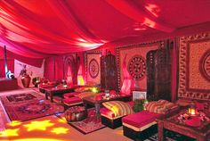 Moroccan themed event