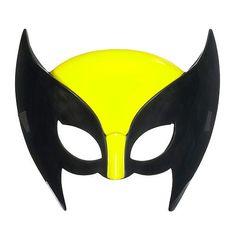 Marvel Super Hero Squad Wolverine Hero Mask-make sure the yellow nose bit isn't too thick Baby Wolverine, Deadpool Wolverine, Superhero Party, Superhero Logos, Girl Face Painting, Marvel, Tom Hiddleston Loki, Toys R Us, Kids Store