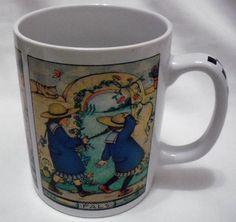 Mary Engelbreit Pals Coffee Cup Mug Ceramic ME OZ #MaryEngelbreit