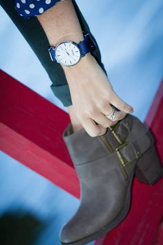 Love this Parsonii interchangeable watch. It\'s elegant, stylish and adjustable to match you and your style!