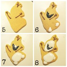 Disney Frozen Olaf cookie tutorial