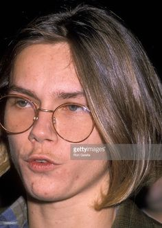 Actor River Phoenix attends PETA's 'Rock Against Fur' Concert on February 19, 1989 at The Palladium in New York City.