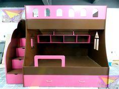 kidsworld.2000@yahoo.com.mx, 01442 690 48 41 Y WATHSAPP 442 323 98 27..PRECIOSA LITERA TRIPLE PARA NIÑAS, CON ESTOS COLORES CHOCOLATE Y FRESA LOS DULCES SUEÑOS ESTÁN GARANTIZADOS! #literas juveniles #literas ahorradoras de espacio #literas para niñas #literas unisex #chocolate #café #rosa #fresa #muebles juveniles #muebles en chocolate #muebles divertidos #literas #literas en Queretaro