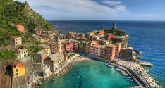 Vernazza – one of five localities of the Cinque Terre. As in most of the national park, in Vernazza prohibited movement of road transport.