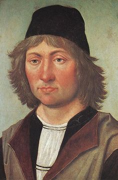 Berruquete, Pedro (1450-1504) - 1490c. Self Portrait   by RasMarley