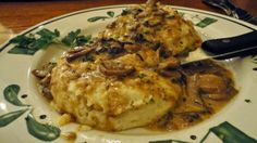 Olive Garden's Stuffed Chicken Marsala Copy Cat Recipe ~ Great Low Carb Meals