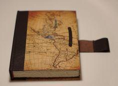 relligat: encuadernación y diseño: Cuaderno de piel