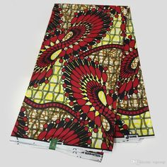 LS-48 New African Wax Print Fabric,Ankara Fabrics Batik Super Hollandais Wax…