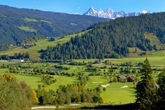 Radstadt golf course – one of the most scenic par 4 courses in Austria