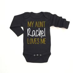 My Aunt Auntie Uncle Cousin loves me by LittleBabyCouture on Etsy