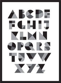 geometric typography grid - Recherche Google