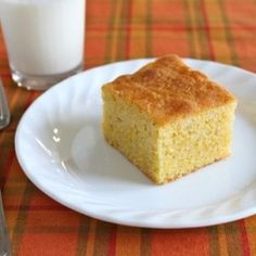 Gluten-Free Maple Cornbread   This sweet cornbread makes a wonderful dessert. It's sweet and cake-like but, happily, not too sweet.