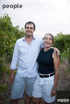 Toby and Emmanuelle Bekkers. Winemakers McLaren Vale, South Australia. http://bekkerswine.com/ #People #Adelaide #SouthAustralia #Wine #McLarenVale #Portrait #Photography