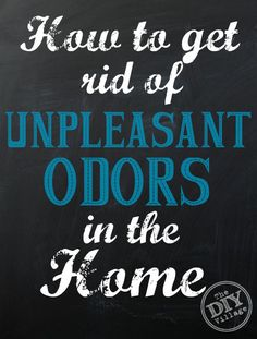 How to get rid of unpleasant odors in your home #ad - The DIY Village #HealthierHome