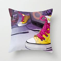 AllStar Throw Pillow by Lorenzo Imperato - $20.00