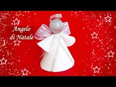HOBBYBEL blog & youtube Angel Ornaments, Christmas Ornaments, Angel Crafts, Quilling, Holiday Decor, Creative, Blog, Diy, Jasmine