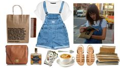 """""""too dumb for new york"""" by tiffany-corbett ❤ liked on Polyvore"""
