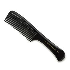 Hercules sagemann large handle comb is a great comb specially for cutting. This comb is very light and feels great in the hand. The base material of the combs is high-quality natural rubber, which is a unique material by vulcanization - ebonite.