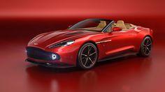 Aston Martin Announces The Stunning Vanquish Zagato Volante at Pebble Beach. #astonmartin #pebblebeach #Vanquish