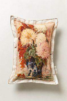 Chrysanthemum Pillow #anthropologie