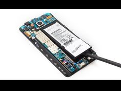 Samsung Galaxy Note 5 battery has fast drain problem or short battery life? The repair guide here will help you replace broken battery easily. Computer Tips, Galaxy Note 5, Techno, Samsung Galaxy, Iphone, Youtube, Diy, Bricolage, Do It Yourself