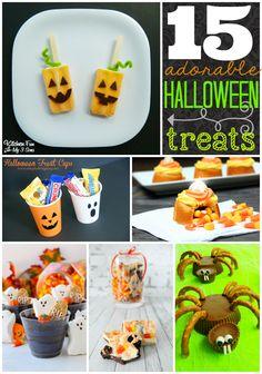 15 Adorable Halloween Treats #Halloween GingerSnapCrafts.com