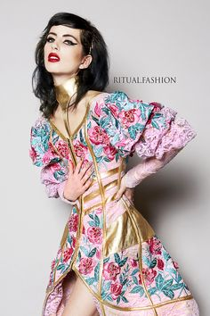 All Is Lost, You Lost Me, Dark Fashion, Luxury Fashion, La Fashion Week, Gowns, Live Love, Gold Leather, Bespoke