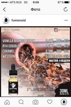 Premium E-liquids straight from the manufacturer Diy Vape Juice, Vape Diy, Vanilla Bean Ice Cream, Vanilla Custard, E Juice Recipe, Vape Smoke, E Liquid Flavors, Smoking Causes, Electronic Cigarette