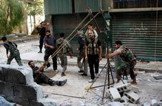DIY Weapons of the Syrian Rebels