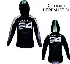 chamarra rompeviento / impermeable herbalife personalizado