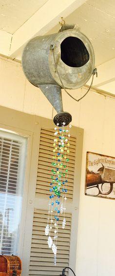 Repurposed watering can....Did It Myself!