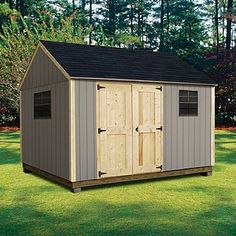 x 12 ft.) - Professional Installation Included - Lawn Garden - Sheds Outdoor Storage - Sheds Storage Buildings Outdoor Storage Sheds, Outdoor Sheds, Shed Storage, Built In Storage, Garden Gazebo, Lawn And Garden, Garden Tools, Garden Sheds, Garden Structures
