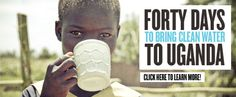 Blood:Water Mission's Challenge to provide clean water to those who need it most. #bethechange http://40days.bloodwatermission.com/