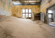 Where The Ghosts Walk: Photographer Captures Abandoned Town In The Desert Of Namibia