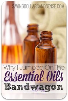 I was a total skeptic about Essential Oils until I actually tried them and saw for myself that they worked!  Click through to read my testimonial and see what finally made me a believer!