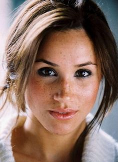 Because of her freckled face, actress and fashion model Rachel Meghan Markle could easily be mistaken for being lilly white. But the star, who currently plays Rachel Zane on the USA legal drama Suits, is the offspring of an African-American mother and a Dutch and Irish father.