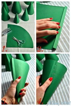"""Allez, vite!: DIY: Adventskalender """"Wald"""" selber basteln - Teil 1: Tannen, Fliegenpilze und Wolken Need some for your #Advent calendar ? Just do it yourself! I prepared a lot of #patterns for this one, so it's really easy!"""