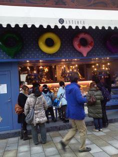 Donuts shop, Aoyama, Tokyo, Japan