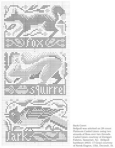 Book No.46_In The Woods_3/4 the prairie schooler woodland style cross stitch