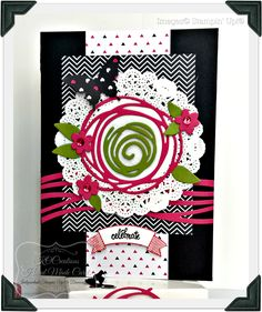 KOCreations Stampin' Up! Blog: Pop Of Pink 'You Are' PPA300 Sketch Challenge