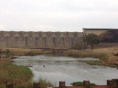 Along the route of #MandelaMarathon we pass Midmar Dam