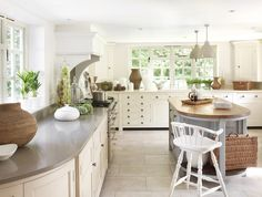 Soft Tones In The Kitchen